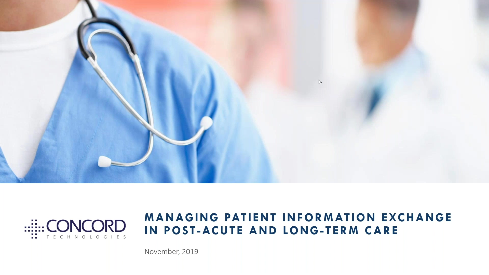 Managing patient information exchange in Post-acute and Long-term care-thumb